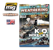 A.MIG-4508 - THE WEATHERING MAGAZINE 9. K.O. AND WRECKS English