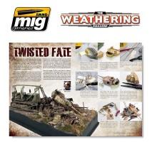 A.MIG-4508 - THE WEATHERING MAGAZINE 9. K.O. AND WRECKS English