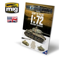 A.MIG-6019 - HOW TO PAINT 1:72 MILITARY VEHICLES ENGLISH