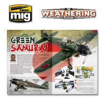 A.MIG-4528 - THE WEATHERING MAGAZINE 29. GREEN English