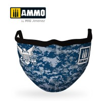 """A.MIG-8070 - AMMO FACE MASK """"Jolly Rogers"""" (Hygienic protective mask 100% polyester)"""