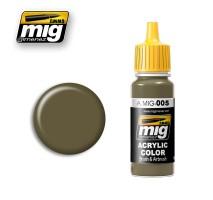A.MIG-0005 - RAL 7008 GRAUGRÜN