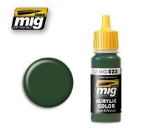 A.MIG-0023 - PROTECTIVE GREEN