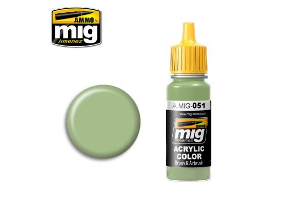 A.MIG-0051 - MEDIUM LIGHT GREEN