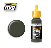 A.MIG-0081 - US OLIVE DRAB VIETNAM ERA (FS 24087)