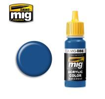 A.MIG-0086 - BLUE (RAL 5019)