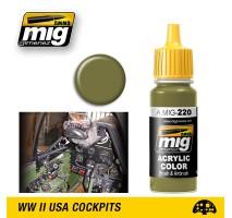 A.MIG-0220 - FS 34151 ZINC CHROMATE GREEN (INTERIOR GREEN)