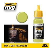 A.MIG-0221 - FS 33481 ZINC CHROMATE YELLOW