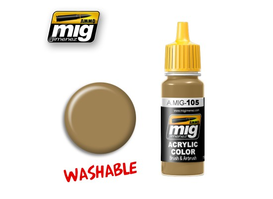 A.MIG-0105 - WASHABLE DUST (RAL 8000)
