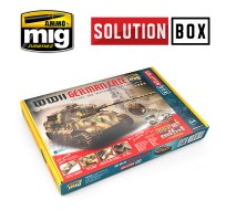 A.MIG-7703 - WWII GERMAN LATE SOLUTION BOX