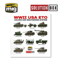 A.MIG-7700 - WW II AMERICAN ETO SOLUTION BOX