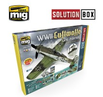 A.MIG-7702 - WWII LUFTWAFFE LATE FIGHTERS SOLUTION BOX