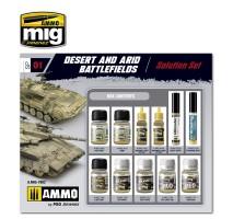 A.MIG-7802 - DESERT & ARID BATTLEFIELDS WEATHERING SUPER PACK
