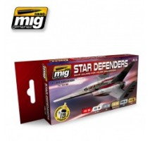 A.MIG-7130 - STAR DEFENDERS SCI-FI COLORS