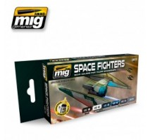 A.MIG-7131 - SPACE FIGHTERS SCI-FI COLORS