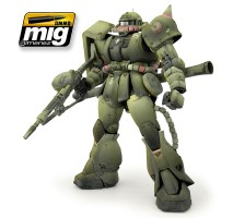 A.MIG-7149 - GREEN MECHAS COLORS