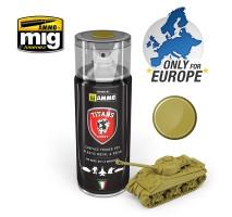 TTH111 Ammo Titans Primer Spray - Matt Dunkelgelb