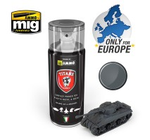 TTH112 Ammo Titans Primer Spray - Matt Panzergrau