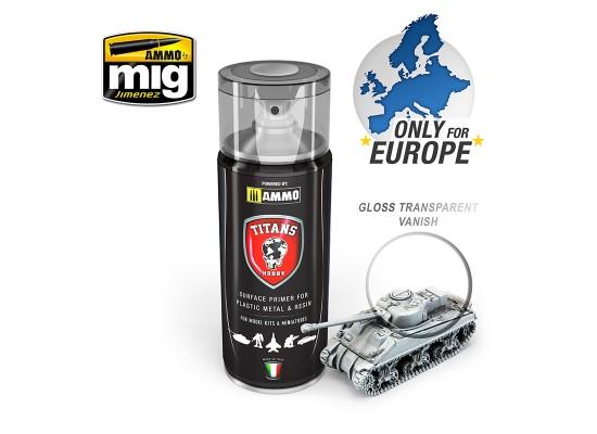 TTH114 Ammo Titans Primer Spray - Glossy Varnish