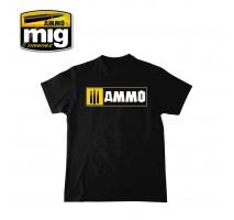 A.MIG-8023 - AMMO EASY LOGO T-SHIRT