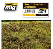 A.MIG-8359 - SMALL BUSHES - AUTUMN