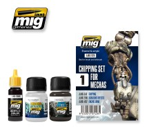 A.MIG-7428 - CHIPPING SET FOR MECHAS