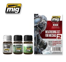 A.MIG-7429 - WEATHERING SET FOR MECHAS