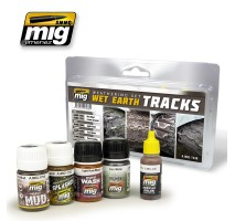A.MIG-7438 - WET EARTH TRACKS SET