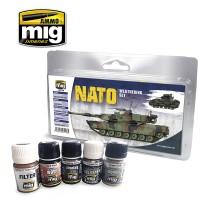 A.MIG-7446 - NATO WEATHERING SET