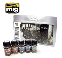 A.MIG-7470 - DEPOT AREAS - SLUDGE TRACKS WEATHERING SET