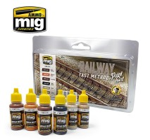 A.MIG-7471 - RAILWAY FAST METHOD PAINT SET