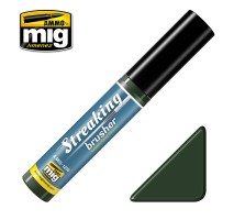 A.MIG-1256 - Streaking Brusher Green-grey grime