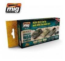 A.MIG-7116 - WARGAME EARLY AND DAK GERMAN SET