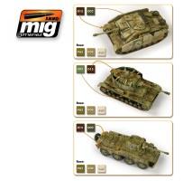 A.MIG-7117 - WARGAME 1943-1945 GERMAN SET