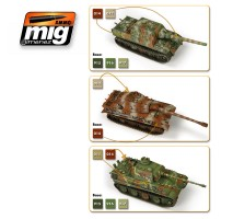 A.MIG-7118 - WARGAME 1945 LATE GERMAN SET