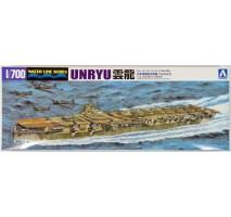 AOSHIMA 00991- 1:700 I.J.N. Aircraft Carrier Unryu
