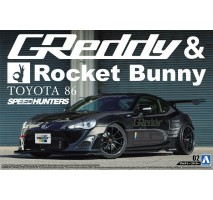 AOSHIMA 05094 - 1:24 Toyota 86 Greddy/Rocket Bunny Volk version