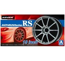 AOSHIMA 05378 - 1:24 ACCESSOIRES - Advan Racing RS 19inch