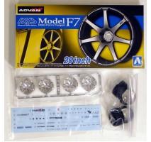 AOSHIMA 05516 - 1:24 ACCESSORIES - AVS Model F7 20inch
