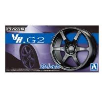 AOSHIMA 05517 - 1:24 ACCESSORIES - Volk Racing VR G2 20inch