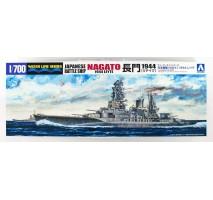 AOSHIMA 09284- 1:700 I.J.N. Japanese Battleship Nagato 1944