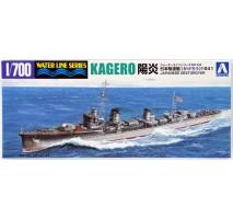AOSHIMA 33531 - 1:700 Destroyer Kagerou 1941
