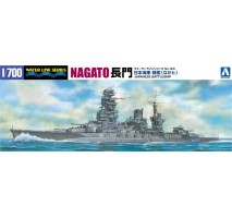 AOSHIMA 45107 - 1:700 I.J.N. Battleship Nagato 1942 Updated edition