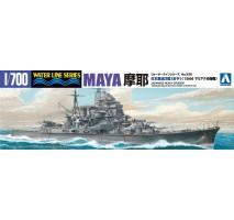 AOSHIMA 45381 - 1:700 I.J.N. Heavy Cruiser Maya 1944