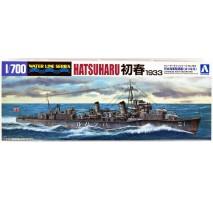 AOSHIMA 45770 - 1:700 I.J.N. Destroyer Hatsuharu 1933