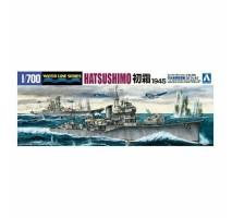 AOSHIMA 45794 - 1:700 I.J.N. Destroyer Hatsushimo 1945
