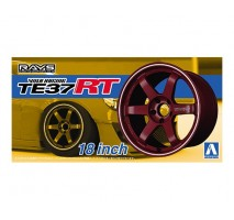AOSHIMA 05302 - 1:24 ACCESSOIRES - Volk Racing TE37RT 18inch