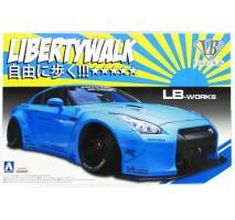 AOSHIMA 54024 - 1:24 Nissan R35 GTR Version 1 Lb Works