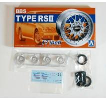 AOSHIMA 05241 - 1:24 ACCESSOIRES - BBS RS II 17inch