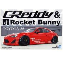 AOSHIMA 05093 - 1:24 Toyota 86 Greddy/Rocket Bunny Enkei version
